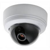Pelco IS90-CH8 IS Indoor Dome Camera, High Resolution, 540TVL, 8mm, White Dome