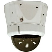 Videolarm ISM75TFN Vandal Resistant Surface Mount Dome Housing with Tinted Dome for Fixed IP Network Camera