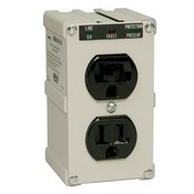 Tripp-Lite ISOBLOK2-0 2-outlet, Direct Plug-In, 1410 Joules Isobar Surge Suppressor- Direct plug-In Surge, Spike And Line Noise Protection