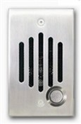Channel Vision IU-0272 Satin Silver Finish 1/4 Inch Solid Brass Intercom Unit