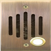 Channel Vision IU0232 Intercom Unit, Antique Brass