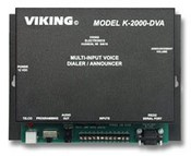 Viking Electronics K-2000-DVA Multi-Input Voice Dialer/Announcer