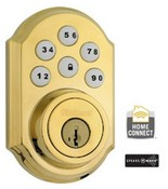 Kwikset Corporation 99100-004 Smartcode Z Wave Db Polished Brass