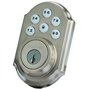 Kwikset Corporation 99100-005 Motorized Deadbolt w/Home Connect - Satin Nickel