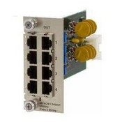 Lan Power Systems VP-6009 4-Port Central Card with Ground Loop Control RJ45 (In) to RJ45 (Out)