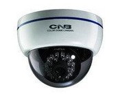 CNB LBM-20S Monalisa Indoor Ir Dome (100mm) - 600tvl 3-Axis, 3.8mm Fixed Lens, 0.00lux(Led Ir On) 24 Leds, Upto 45ft, Dc12v