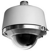 Pelco LD53PR0 Pressurized Lower Dome, Smoked, Bubble