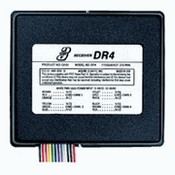 Linear DR4 4-Channel Delta-3 12 Volt Gate or Garage Door Opener Receiver