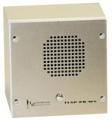 Louroe Electronics TLSP-PB-WS Vandal Resistant Speaker Microphone with Pushbutton / Wall Surface Mount