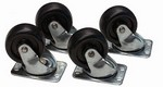 Lowell Manufacturing Co C2S Casters Set Of 4
