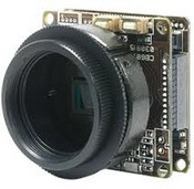 Marshall Electronics V-1255-C-CS Low Light Board Camera for Custom Installations with C/CS Lens Mount