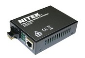 Nitek MC722MTX22 Media Converter Set Containing a Transmi
