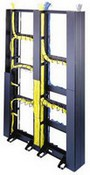 Middle Atlantic Products CK45 Center-Oriented Cable Organizer for 45-Space Relay Rack
