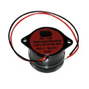 MG Electronics PA-100 3-28 VDC Panel Mount Sounder/Siren