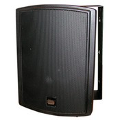 MG Electronics SB700B Indoor/Outdoor 2-Way Corner Compatible Speakers - Black