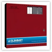 Mircom SFC-105R Five Zone Fire Alarm Control Panel, Red