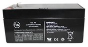 Minuteman B00024 12V 3.4Ah UPS Battery Replacement