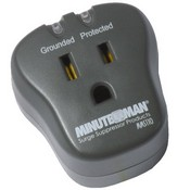 Minuteman MMS110 - Single Outlet wall tap Surge Suppressor