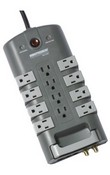 Minuteman MMS7120RCT 12-Outlet/8-Rotating Outlet Surge Suppressor