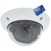 Mobotix MXD24MITNIGHTN22 Single Lens Mini Dome Camera, VGA Resolution