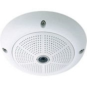 Mobotix MX-Q24MI-BASIC-D22 Hemispheric Indoor Camera with D22 Day Sensor (White)