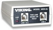 Viking Electronics MOH-2L Two-Line Musc On Hld Device
