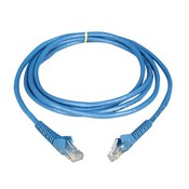 Tripp-Lite N201-007-BL 7-ft Cat6 Gigabit Snagless Molded Patch Cable (RJ45 M/M) – Blue