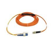 Tripp-Lite N424-01M 1M (3-ft) Fiber Optic Mode Conditioning Patch Cable (SC/LC)