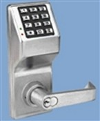 Napco DL2875IC10BS Trilogy Lockset Schlage Interchangeable Core Duronodic
