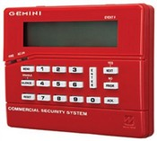Napco GEMCFK1 Liquid Crystal Display Fire Keypad for GEM-C Combo System, Red