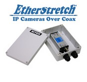 Nitek ET1500CWS Outdoor Ip Cameras Over Coax Xmtr With Poe