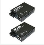 Nitek MC712SGX210 Single-Mode Gigabit Fiber Optic Media Co