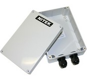 Nitek WP1324 Outdoor Rated Weathrproof Enclosure Kit for Network Extender Transmitter Units