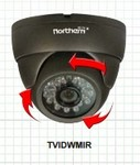 Northern Video TVIDWMIR Tvi 1080P, 3.6Mm, 60'Ir, Ip66, Utc, 12Vo