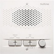 Broan-Nutone NPS104WH Outdoor Remote Station Retrofit for 4-Wire Intercom Systems, White