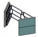 Orion Images WSD Video Wall Mount Swing Out Door - Open E