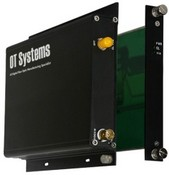 OT Systems FT100-SMTSA Digital Fiber Optic Video Transmitter, 1-Channel, Video, Module, Multi Mode