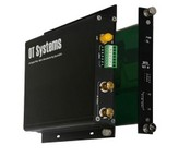 OT System FT210DB-SMR Digital Fiber Optic Receiver, 2-Channel Video, 1-Channel Data, Card, Multi Mode