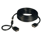 Tripp-Lite P503-050 50-ft Easy Pull All-in-One SVGA/VGA Monitor Cable with Connectors, (HD15 M/M)