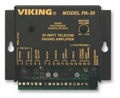 Viking Electronics PA-30 30 Watt Telecom Paging Amp W/ Loud Ring