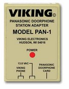 Viking Electronics PAN-1 Panasonic Door Phone Station Adapter