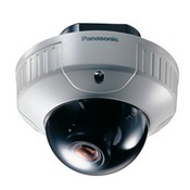 Panasonic WV-CW244F-15 Flush Mount, VANDAL-Proof Dome Camera with 480-TVLs of res & 15-5