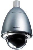 Panasonic WV-CW964 Color Weather-Proof Dome Surveillance Camera, 30x Optical Zoom, Fan/Heater, Image Stabilizer, High Speed 360° Panning, Motion Detector, NTSC