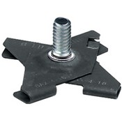 Panavise 863 T-Bar Clip Base (Black)