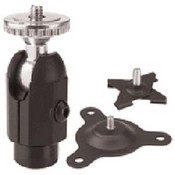 Panavise 883-03 Dual Option Mount, 3 in (Black)