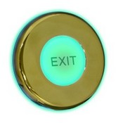 Paxton Access 593-741-US Exit Button Marine, Brass