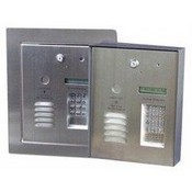 Pach & Company 8250FFP 250 Tenant TAC System with Software Full Flush with Trm Ring