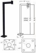 Pach & Company UPM4S 47in Universal Pedestal Mount
