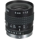 Pentax C60607KP 6Mm F1.2-C C-Mount, W/Locking Screw