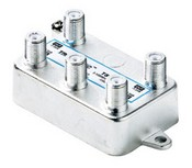 Pico TSV-4SB 4-Port 1GHz Vertical Port Splitter (Solder Backed)